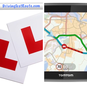 L-Plates with DrivingTestRoute.com